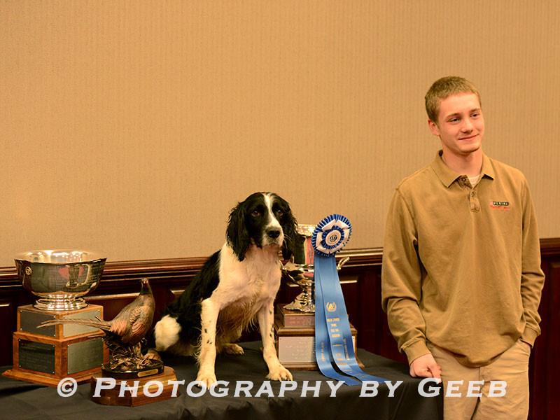 The winning team Marshal and Conner Wharton.